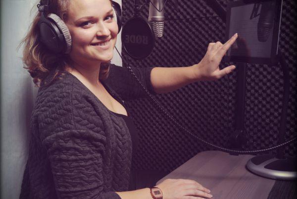 Voiceover Vrouw Studio